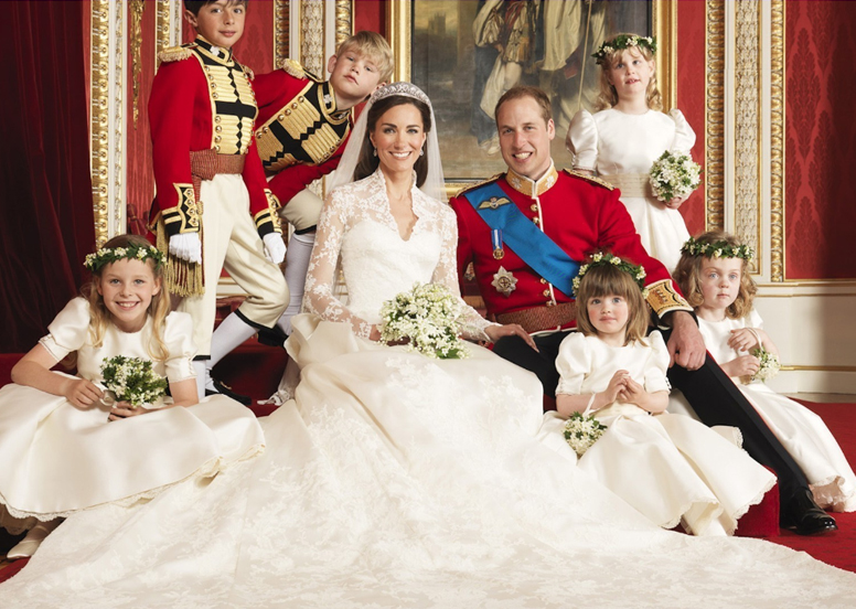 Wedding dress of Kate Middleton