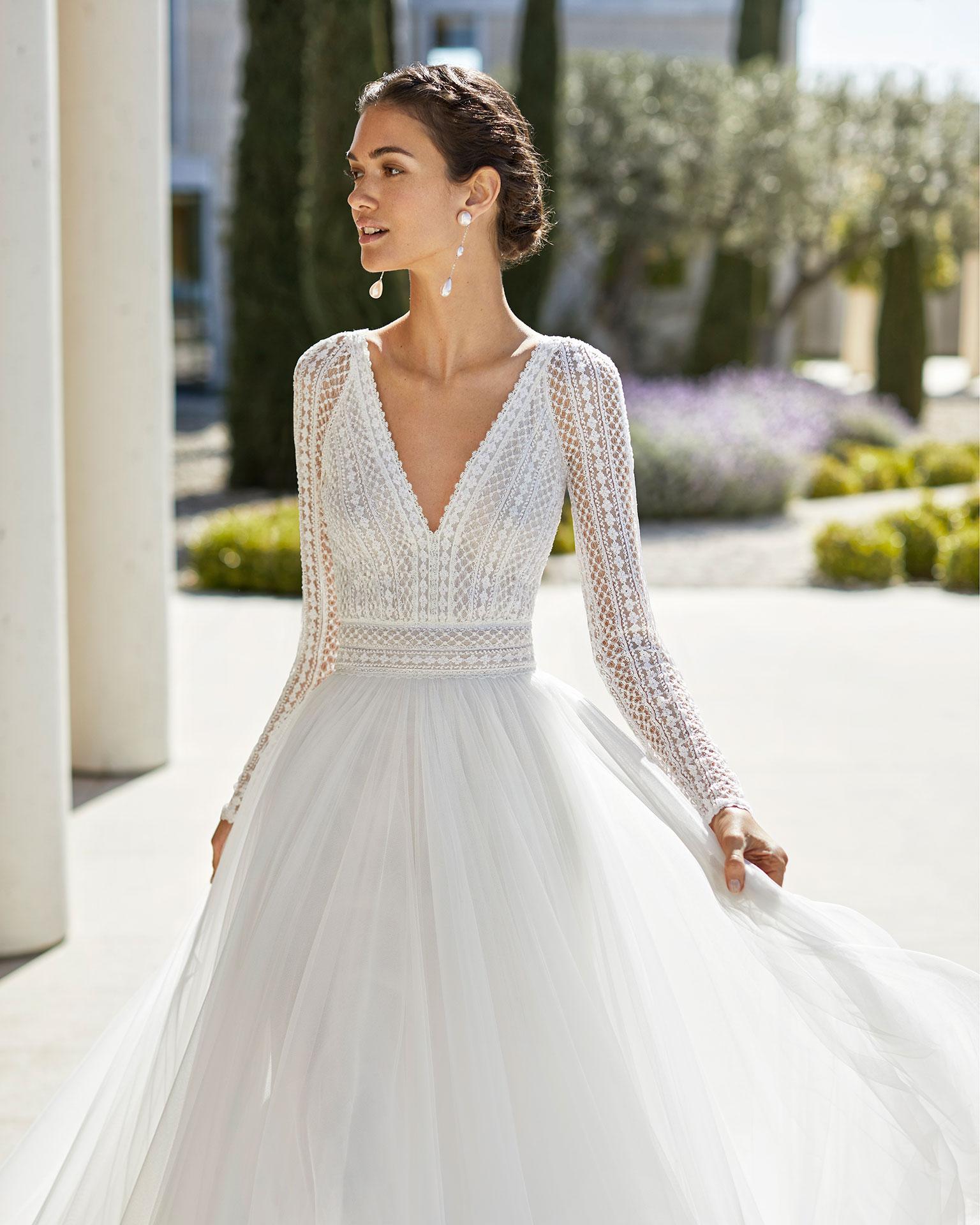 Langarm Brautkleid  Pearl Fashion Group