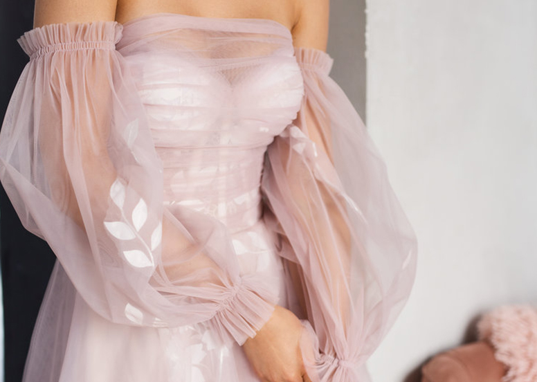 Pink — a Fashionable Color for a Wedding Dress