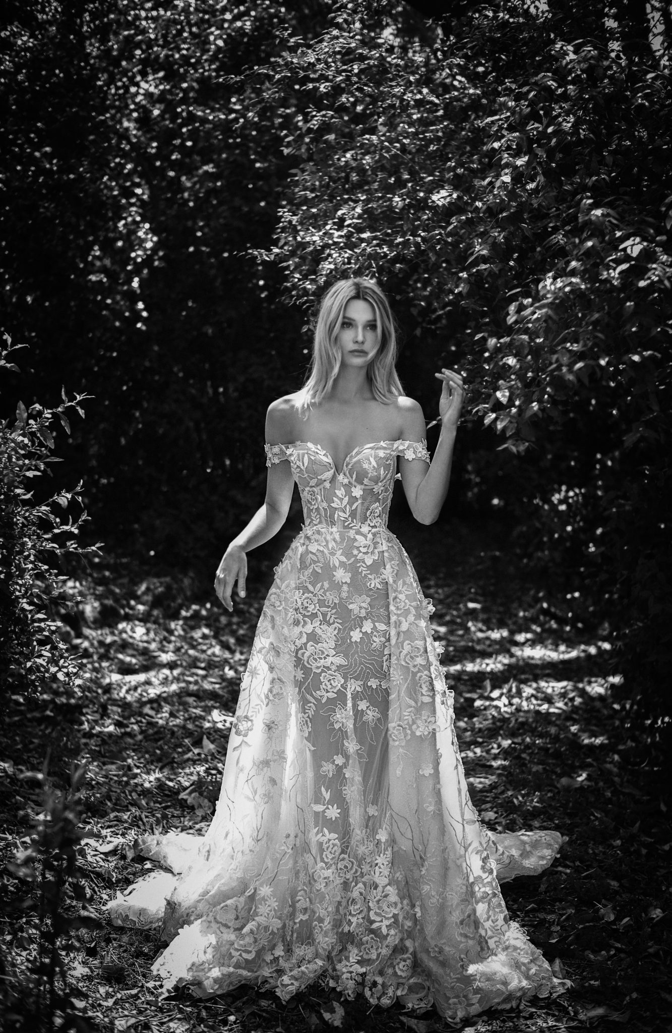 Hochzeitskleid mit Überrock  Pearl Fashion Group