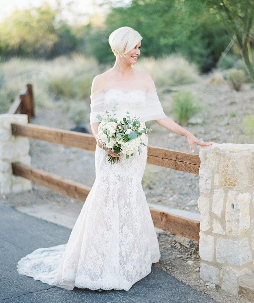 Robe de mariée pour femmes de plus de 50