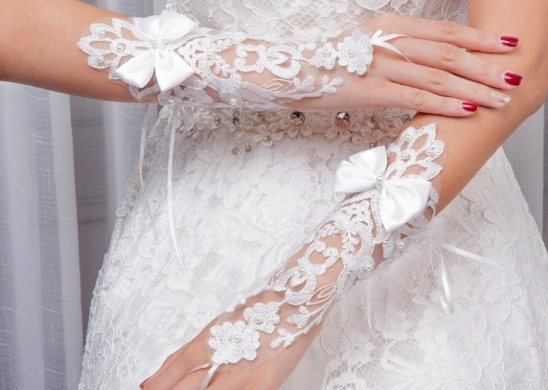 Lace Bridal Decorations and Accessories