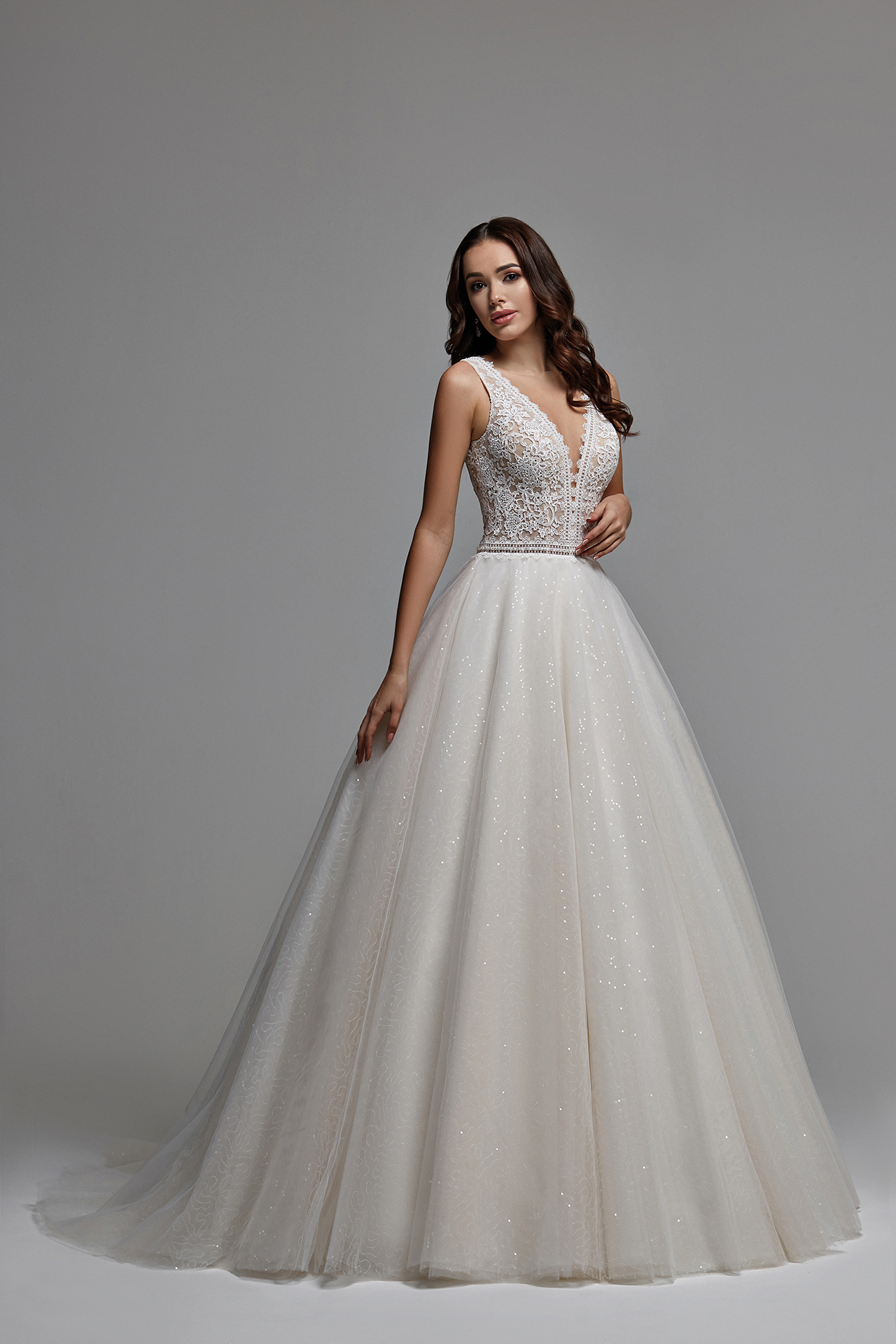 Buy A Wedding Dress Izabella Fitted Silhouette With A Fluffy