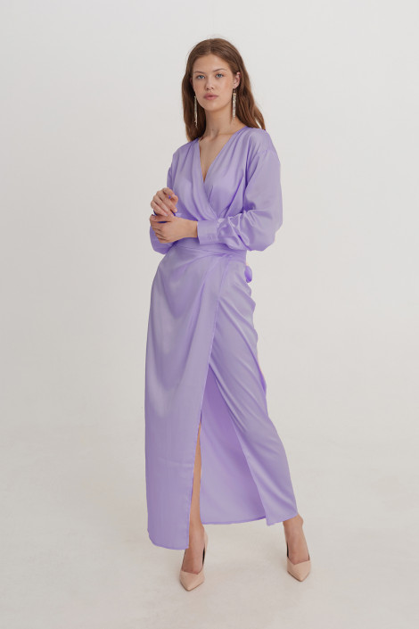 Dress Anita long lavanda