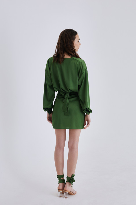 Dress Aria forest green