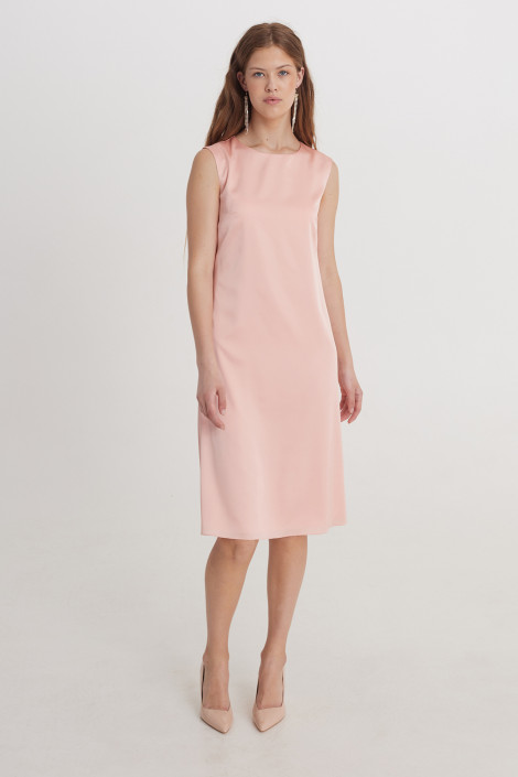 Dress Cora Pale Dogwood