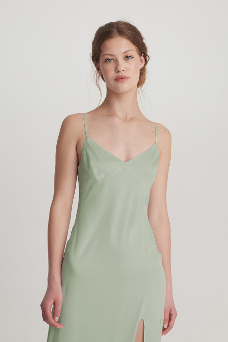 Dress Audrey midi olive