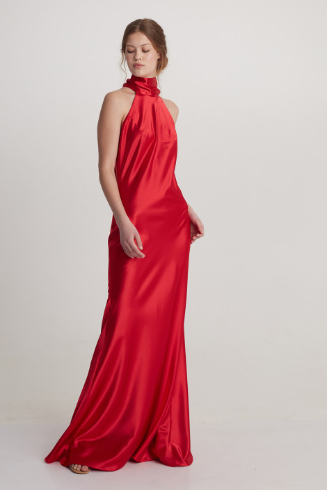 Robe Candy rubis rouge