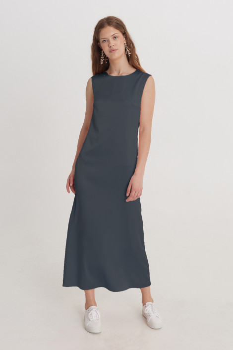Dress Donna Cool gray