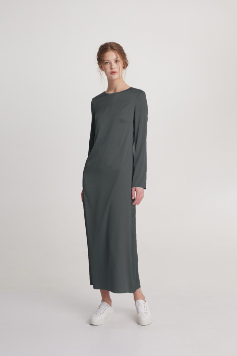 Dress Emma cool gray