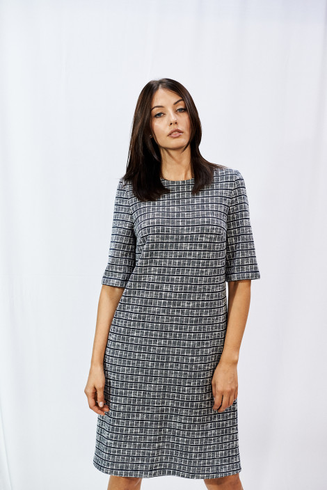 Ethel Gray Mosaic dress