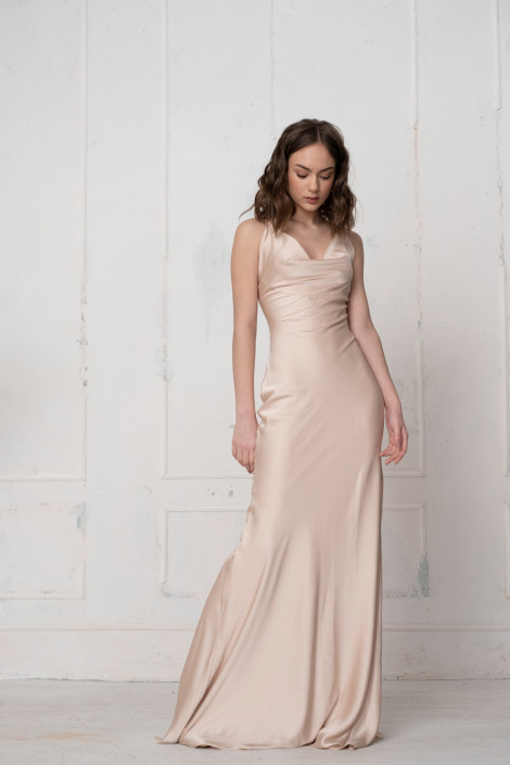Dress Florian champagne