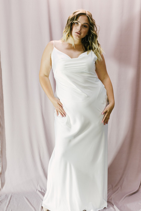 Dress Florian plus size ivory