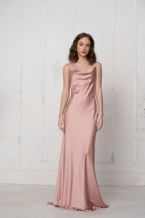 Dress Florian rose gold