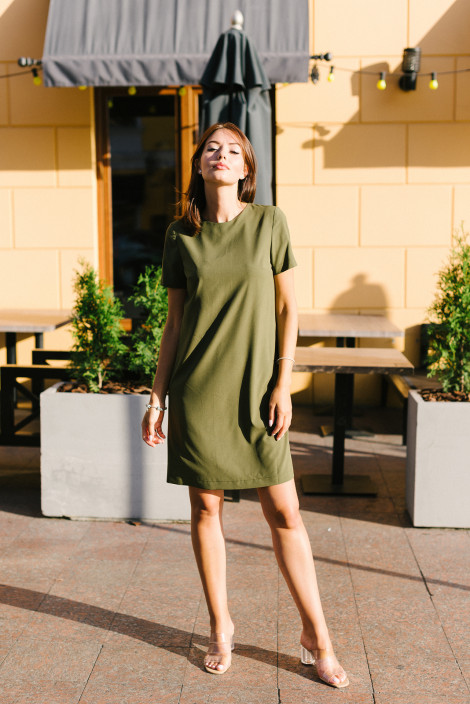 Dress Gina army green