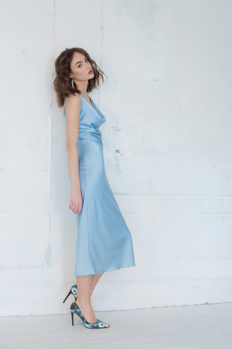 Robe Faith Blue Bell
