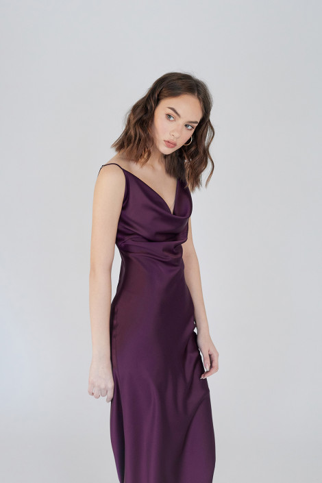 Robe Faith Indigo Violet