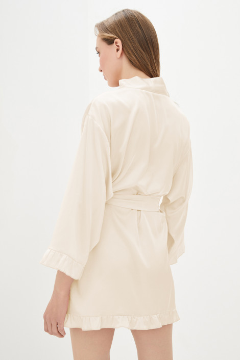 Dressing gown Grace champagne