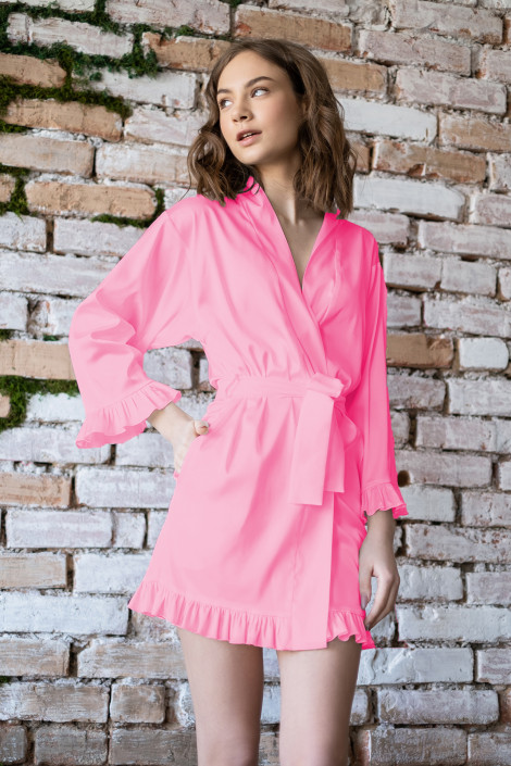 Dressing gown Grace chateau rose