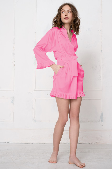 Grace chateau rose dressing gown