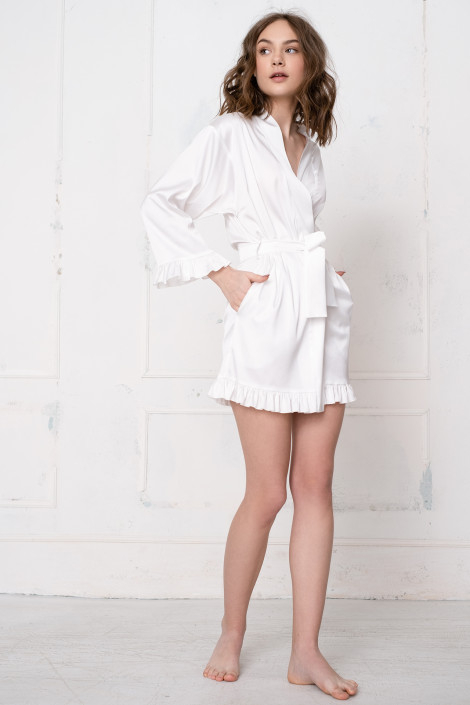 Grace ivory dressing gown
