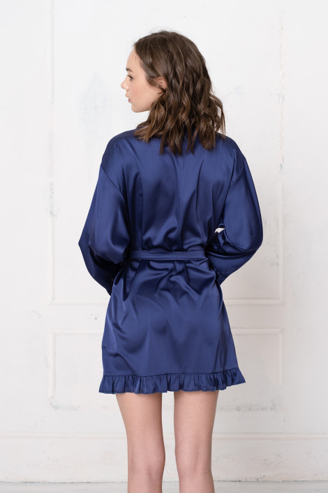 Dressing gown Grace navy