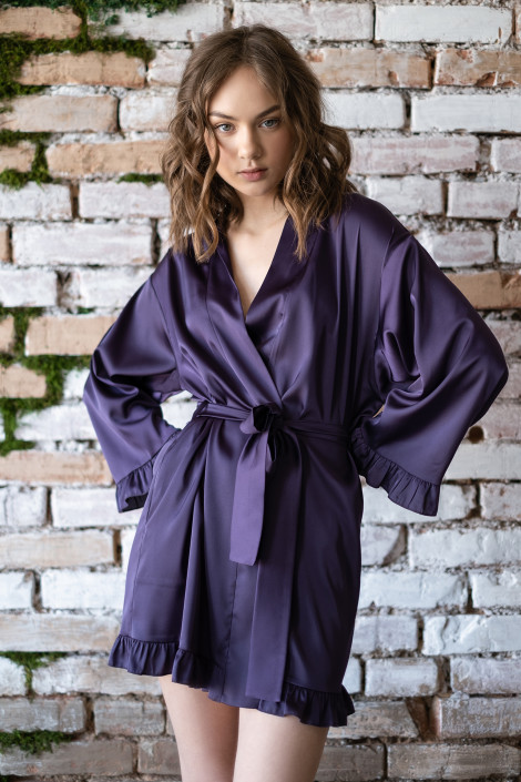 Grace violet dressing gown