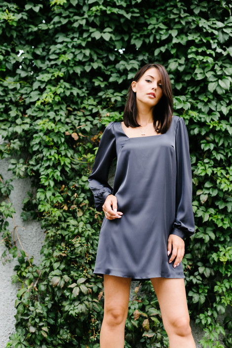 Dress Ruth cool gray