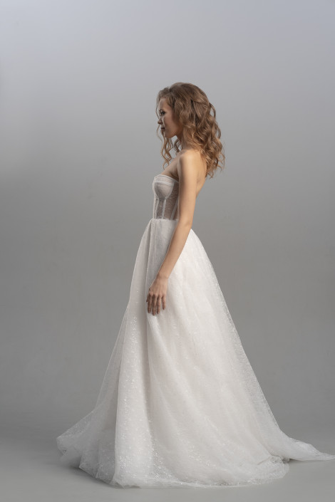 Simone 1 wedding dress