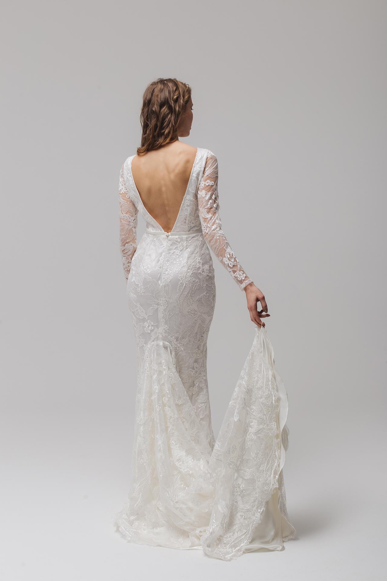 Spitze Brautkleid im Meerjungfrau-Schnitt,Hochzeitskleid ...